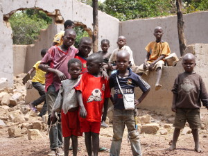 The children of Zere, Central African republic