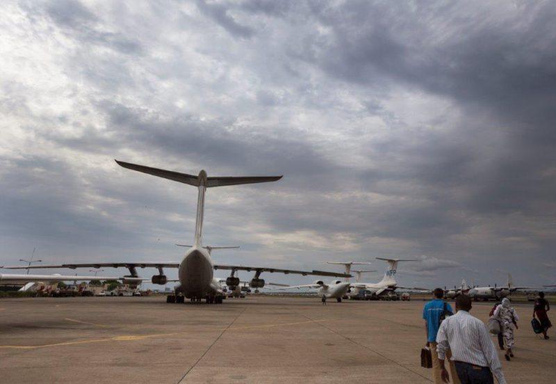 Luchthaven Juba(Foto Petterik Wiggers)
