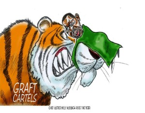 Mutunga rides the tiger