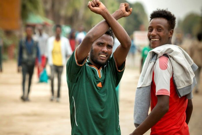 Jongeren in Oromia veroorzaakten een omwenteling in Ethiopië opstand(Foto Petterik Wiggers)
